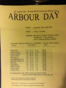 Arbor Day Sales