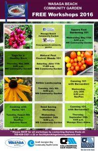 Free Garden Workshops